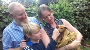 Oliver's New Family Portrait