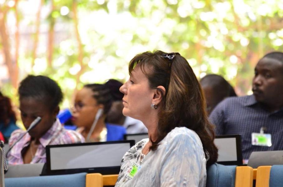 "Amy Rapp, ""Rescue Captain"" of TNR Trust Nairobi"