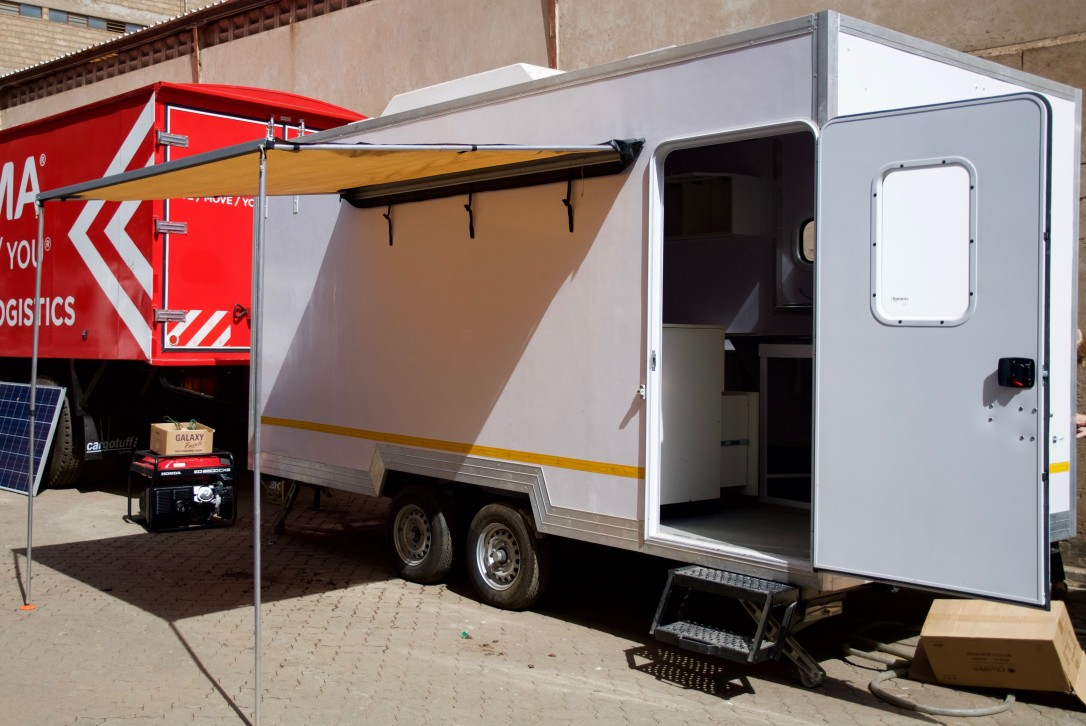 Isn't she lovely, our beautiful Mobile Clinic !?