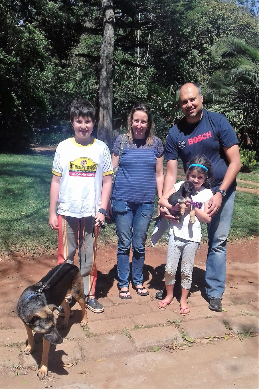 Wangari's new family